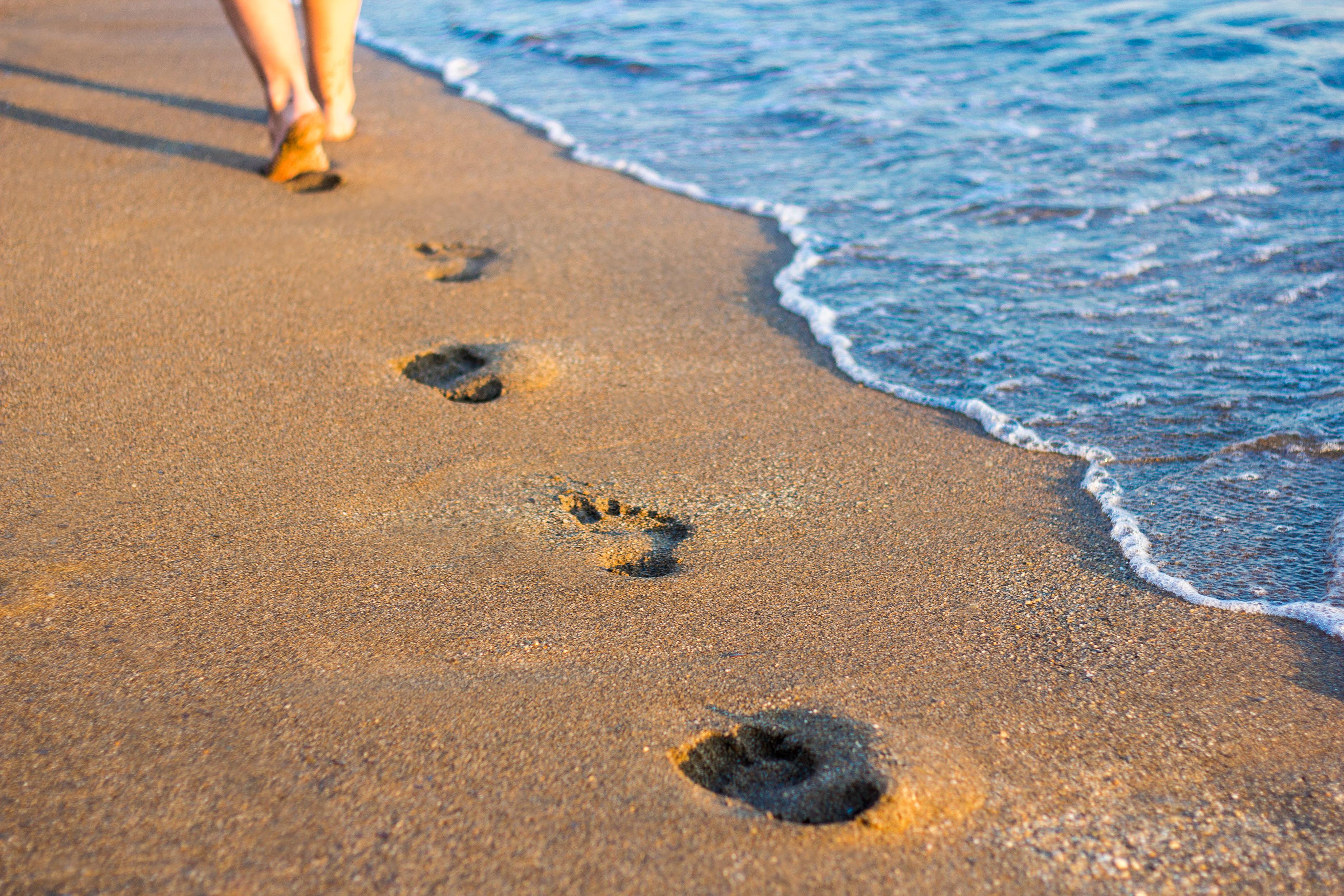 Ta' det første skridt